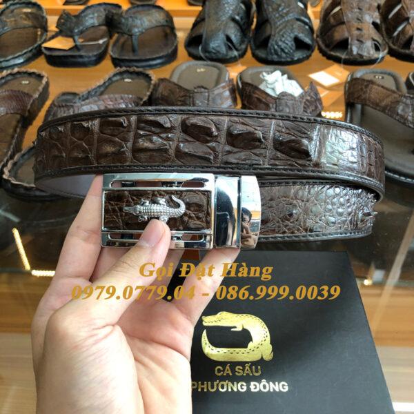 Thắt Lưng Cá Sấu Nối 3.5cm (Mã: 870)