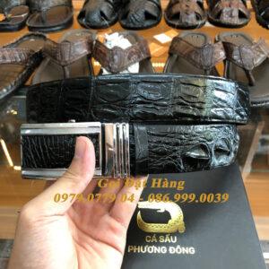 Thắt Lưng Cá Sấu Liền 4cm (Mã: 9131)