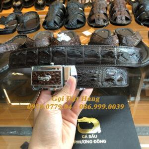 Thắt Lưng Cá Sấu Liền 4cm Đặc Biệt (Mã: 9132)