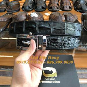 Thắt Lưng Cá Sấu Liền 4cm Đặc Biệt (Mã: 9133)
