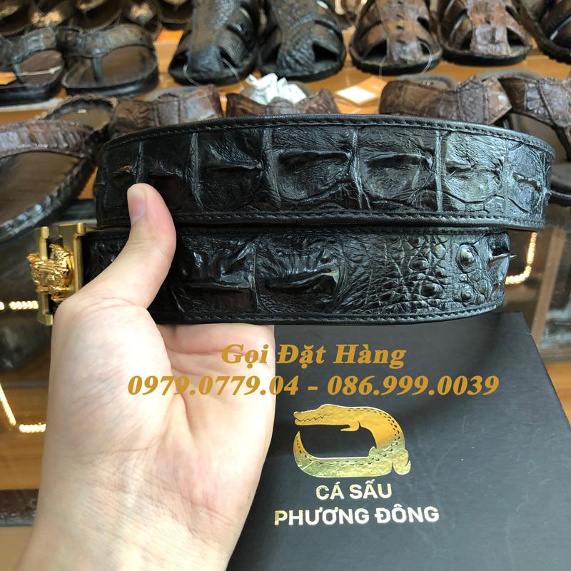 Thắt Lưng Cá Sấu Liền 4cm Đặc Biệt (Mã: 9135)