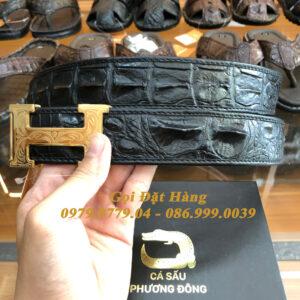 Thắt Lưng Cá Sấu Liền 4cm Đặc Biệt (Mã: 9136)