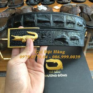 Thắt Lưng Cá Sấu Liền 4cm Đặc Biệt (Mã: 9137)