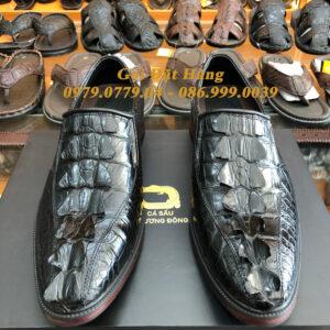 Giày Tây Gai Đuôi Da Cá Sấu (Size:41)