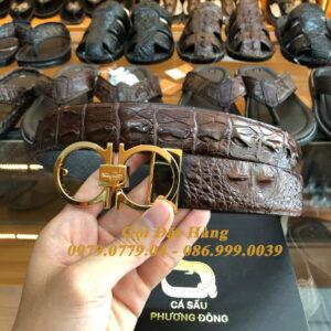 Thắt Lưng Cá Sấu Liền 3.5cm Đặc Biệt (Mã: L0073)