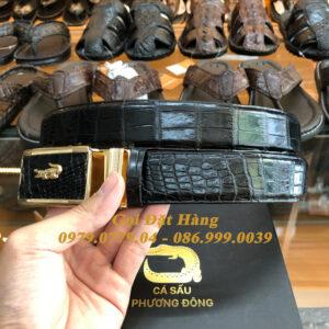 Thắt Lưng Cá Sấu Liền 3.5cm (Mã: L0078)