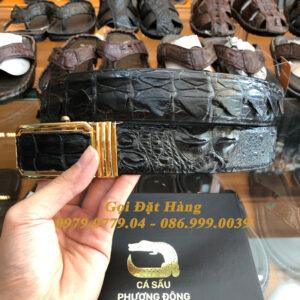 Thắt Lưng Cá Sấu Liền 4cm (Mã: 9144)