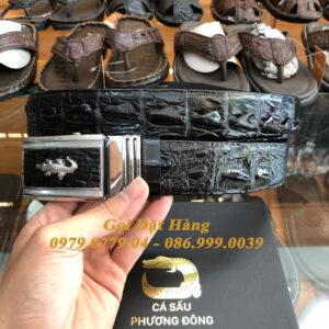 Thắt Lưng Cá Sấu Liền 4cm (Mã: 9145)