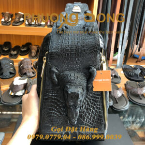 Túi Bao Tử Da Cá Sấu Có Đầu (Mã: C28)