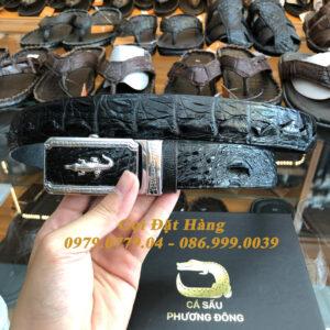Thắt Lưng Cá Sấu Liền 3.5cm (Mã: L0085)