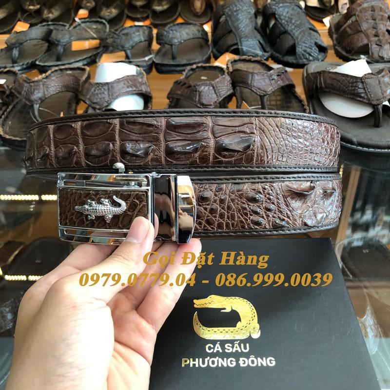 Thắt Lưng Cá Sấu Nối 4cm (Mã: N756)