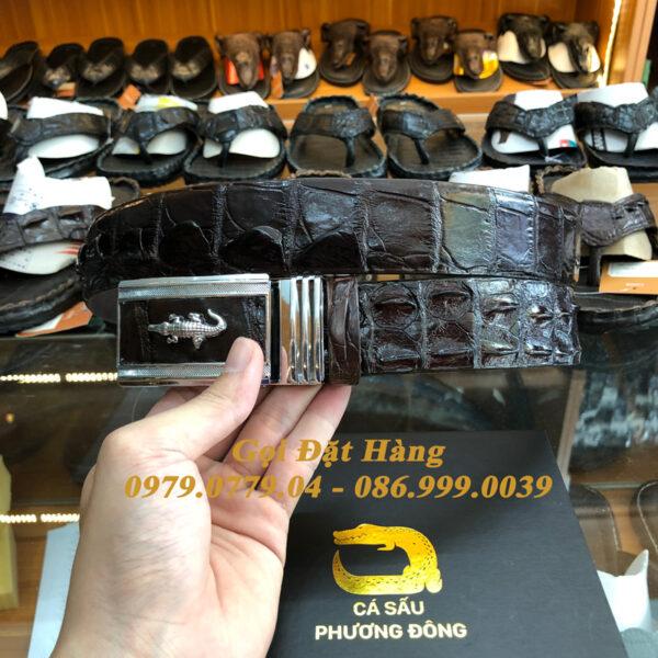 Thắt Lưng Cá Sấu Liền 4cm (Mã: 9150)
