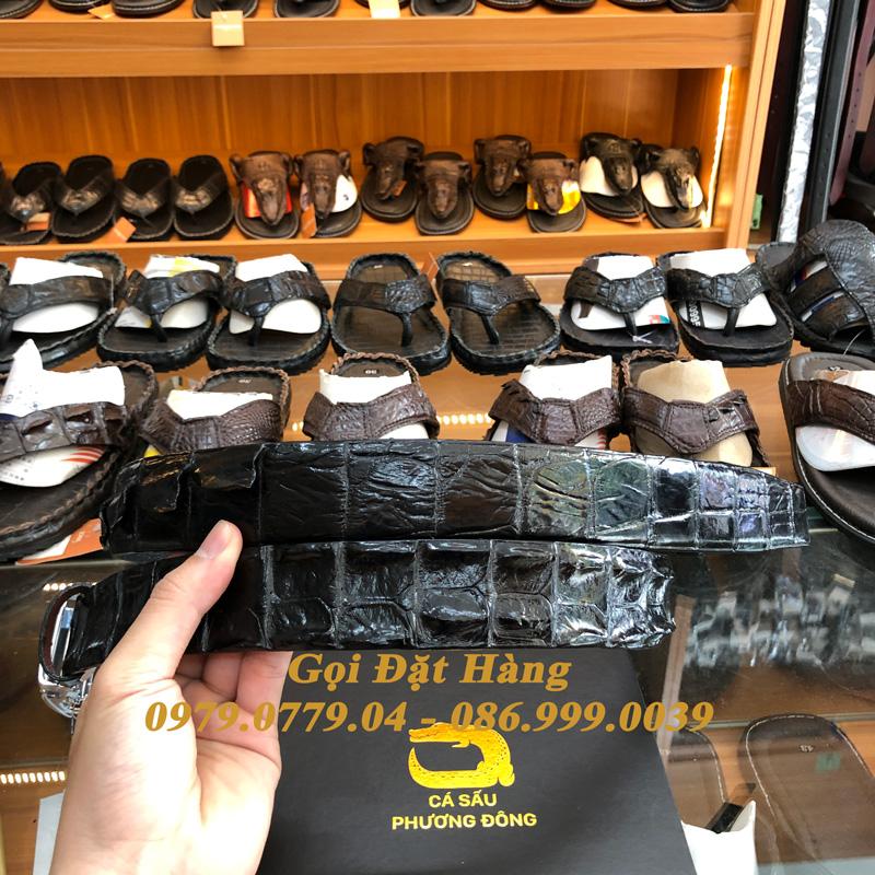 Thắt Lưng Cá Sấu Liền 4cm (Mã: 9152)