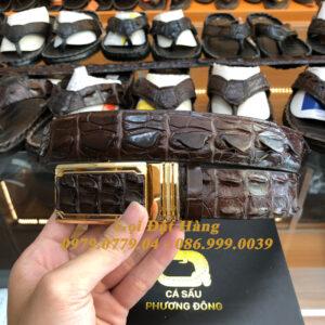 Thắt Lưng Cá Sấu Liền 3.5cm (Mã: L0098)