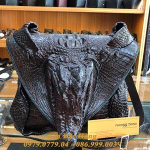 Túi Đeo Chéo Da Cá Sấu Nguyên Con( Mã: C30)
