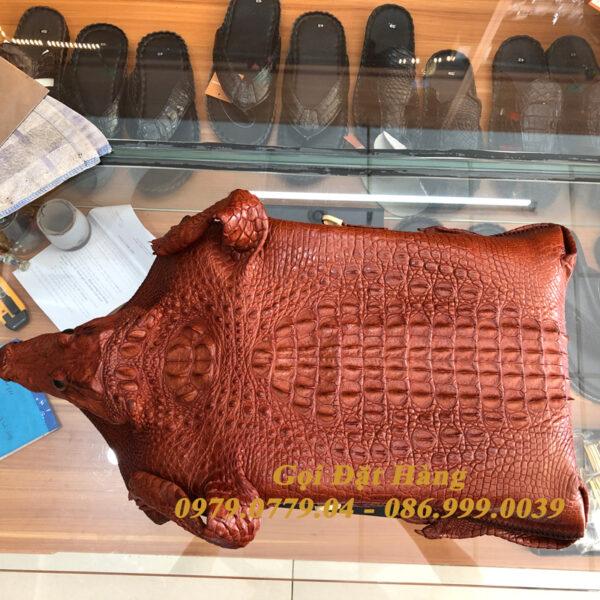 Túi Đeo Chéo Da Cá Sấu Nguyên Con( Mã: C29)