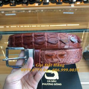Thắt Lưng Cá Sấu Liền 4cm (Mã: 9173)