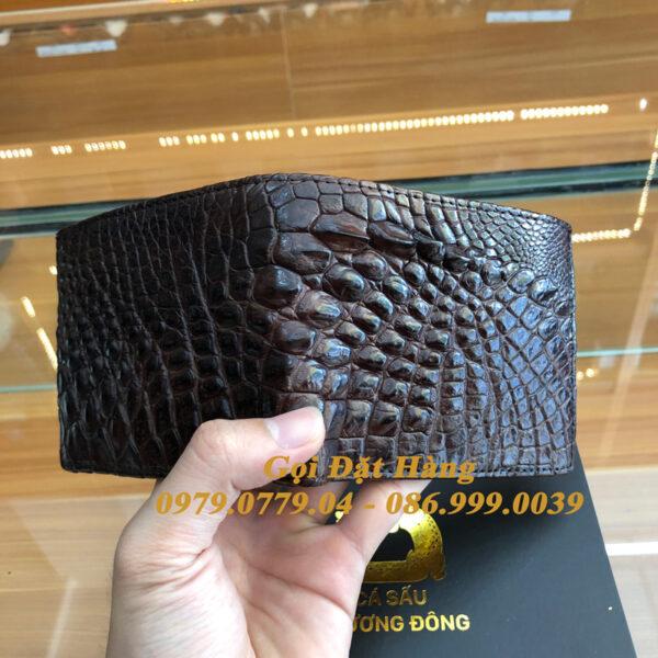 Ví Cá Sấu Bụng (Mã: 6157)