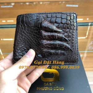 Ví Da Cá Sấu Tay (Mã: 7001)