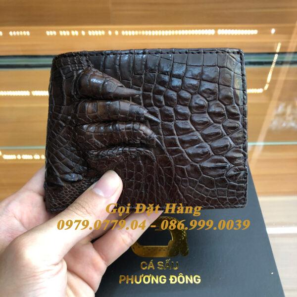 Ví Da Cá Sấu Tay (Mã: 7002)