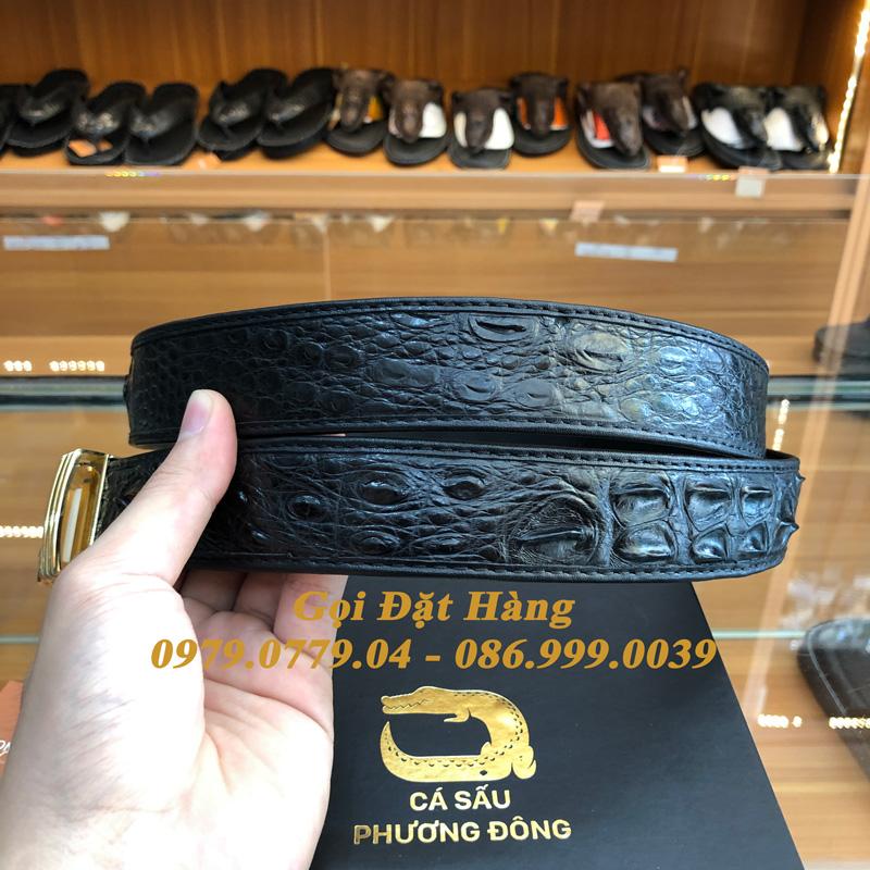Thắt Lưng Cá Sấu Nối 3.5cm (Mã: 876)
