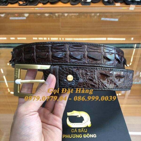 Thắt Lưng Cá Sấu Liền 4cm Đặc Biệt (Mã: 9178)
