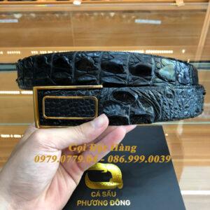 Thắt Lưng Cá Sấu Liền 4cm Đặc Biệt (Mã: 9192)