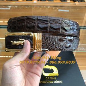 Thắt Lưng Cá Sấu Liền 4cm (Mã: 9194)