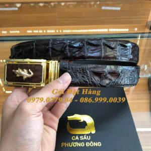 Thắt Lưng Cá Sấu Liền 3.5cm (Mã: L0106)