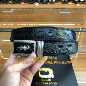 Thắt Lưng Cá Sấu Liền 3.5cm (Mã: L0109)
