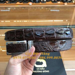 Thắt Lưng Cá Sấu Liền 3.5cm (Mã: L0110)