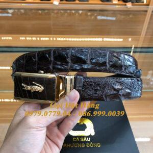Thắt Lưng Cá Sấu Liền 3.5cm (Mã: L0111)