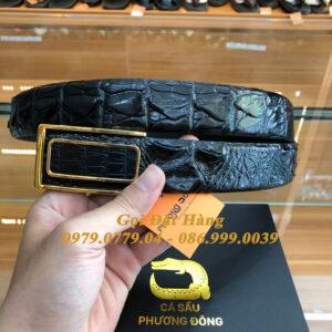 Thắt Lưng Cá Sấu Liền 3.5cm Đặc Biệt (Mã: L0114)