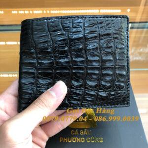 Ví Cá Sấu Gai Lưng (2 Mặt - Mã: 4086)