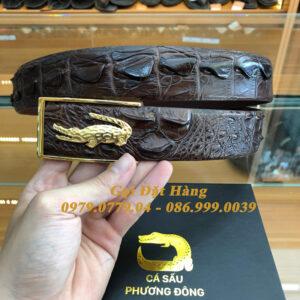 Thắt Lưng Cá Sấu Liền 4cm Đặc Biệt (Mã: 9199)