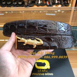 Thắt Lưng Cá Sấu Liền 4cm Đặc Biệt (Mã: 9200)