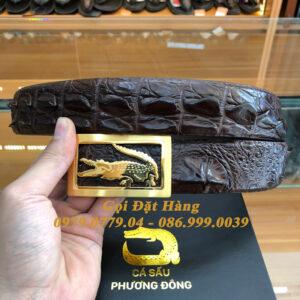 Thắt Lưng Cá Sấu Liền 4cm Đặc Biệt (Mã: 9201)