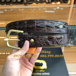 Thắt Lưng Cá Sấu Liền 4cm Đặc Biệt (Mã: 9204)