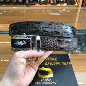 Thắt Lưng Cá Sấu Liền 4cm (Mã: 9208)