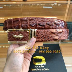 Thắt Lưng Cá Sấu Liền 4cm (Mã: 9211)