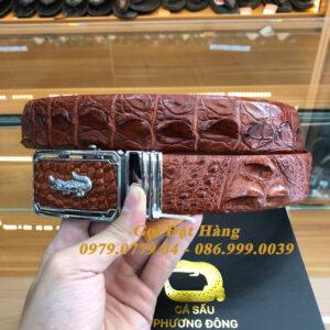 Thắt Lưng Cá Sấu Liền 4cm (Mã: 9213)
