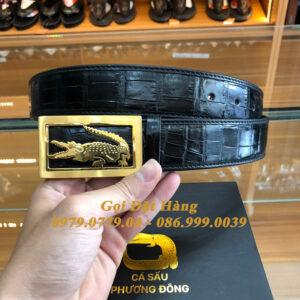Thắt Lưng Cá Sấu Liền 4cm Đặc Biệt (Mã: 9214)