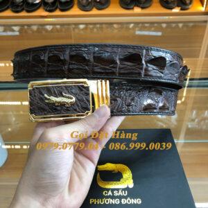 Thắt Lưng Cá Sấu Liền 4cm (Mã: 9222)