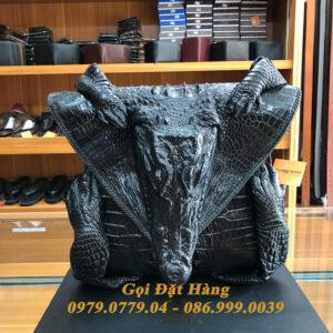 Túi Đeo Chéo Da Cá Sấu Nguyên Con( Mã: C43)