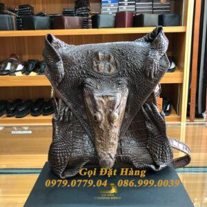 Túi Đeo Chéo Da Cá Sấu Nguyên Con( Mã: C44)