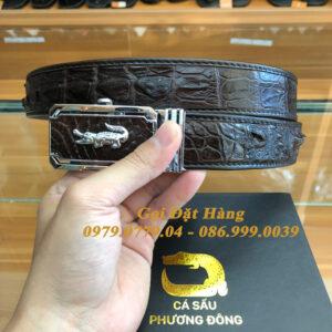 Thắt Lưng Cá Sấu Liền 3.5cm (Mã: L0123)