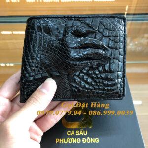 Ví Da Cá Sấu Tay (Mã: 7018)