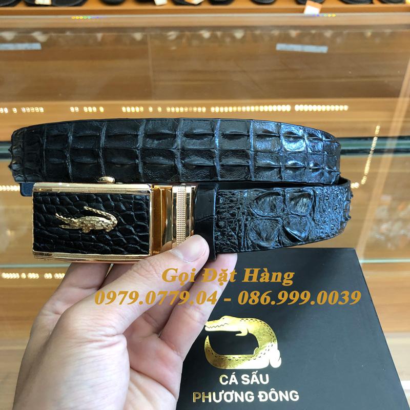 Thắt Lưng Cá Sấu Nối 3.5cm (Mã: 8000)