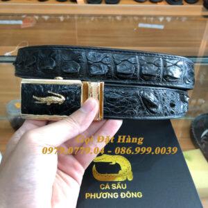 Thắt Lưng Cá Sấu Nối 3.5cm (Mã: 8006)