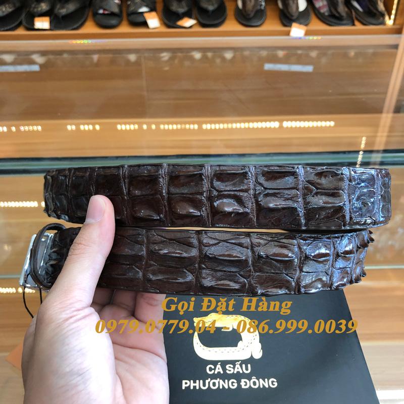 Thắt Lưng Cá Sấu Nối 3.5cm (Mã: 888)